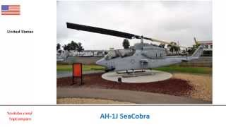 Denel Rooivalk compared with AH-1J SeaCobra, Military Helicopter