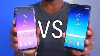 Samsung Galaxy Note 8 vs Galaxy S8 Plus!