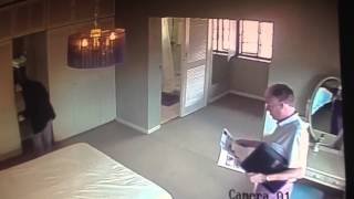 CCTV captures robbery during show house, South Africa