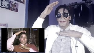Michael Jackson Reacts to Michael Jackson