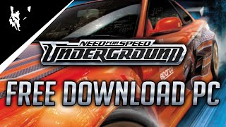 Need for Speed Underground PC Free Download! [1080P]