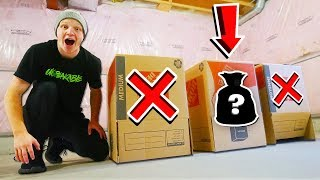 WHICH MYSTERY BOX HAS THE SECRET ITEM?