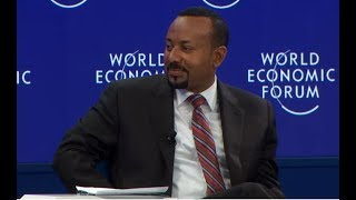 PM Dr Abiy Ahmed addressed world leaders at the World Economic Forum in #Davos