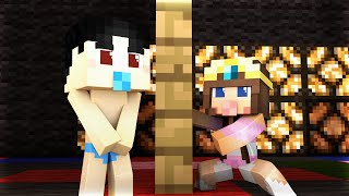 Minecraft - WHO'S YOUR MOMMY? - BABY NAKED DANCE!