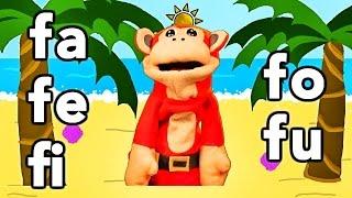 Sílabas fa fe fi fo fu - El Mono Sílabo - Videos Infantiles - Educación para Niños #