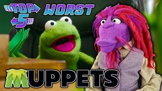 Top 5 Worst Muppets