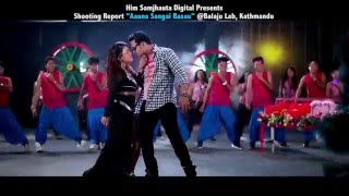 Ho ni timrai kasam|| Shooting report ||Dhanraj Chunara & Karishma Gharti Magar|| Ft. Parbati Rai