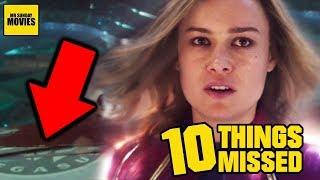 Captain Marvel Trailer 2 Breakdown - Easter Eggs & Things Missed
