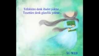Tesettür,örtünme ayetleri - Ahzab 59,ayet,Nur 31.ayet Yusuf Ziya Özkan -