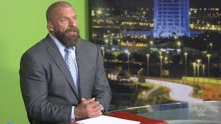 Triple H talks Saudi Arabia and the Greatest Royal Rumble