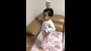 Cute China baby dance for indian tamil song