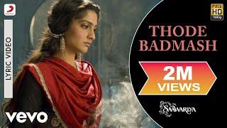 Thode Badmash - Saawariya | Ranbir Kapoor | Sonam Kapoor