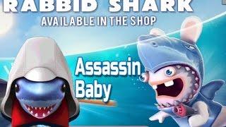 Hungry Shark Evolution new Rabbit, Assassin Baby & shark signal update
