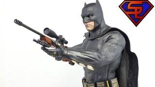 Batman V Superman Hot Toys Batman Movie Masterpiece 1/6 Scale Figure Exclusive Review
