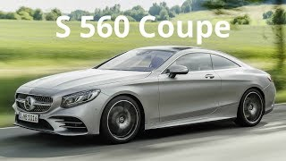 2018 Mercedes S 560 4Matic Coupe - 0-100 kmh in 4.6 sec. (700 Nm, 469 hp)