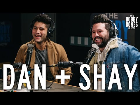 Dan + Shay In Studio with Bobby Bones