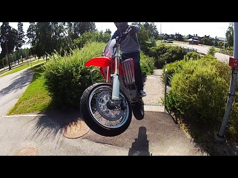 ⚡️ Epic Supermoto Crashes 2017 [EP. 3] 💀 KTM EXC - 690 | Husqvarna 701 | Honda CRF