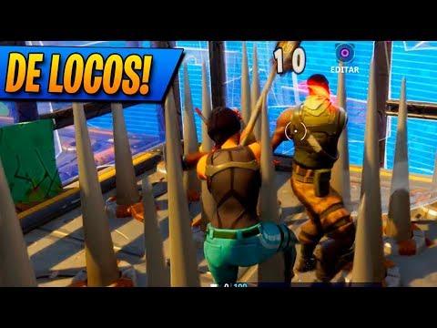 DE LOCOS! Fortnite: Battle Royale