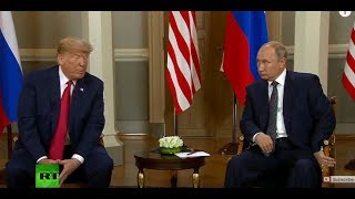 Putin-Trump meeting in Helsinki: Bilateral talks kick off