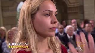Benny Hinn - Prayer for a Young Girl and her Boyfriend