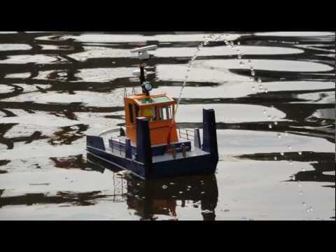 non scale springer tug boat building log and test