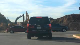 Arlington, Tx Sergeant vehicle 700 FAIL TO SIGNAL 100FT. BEFORE TURN (2)