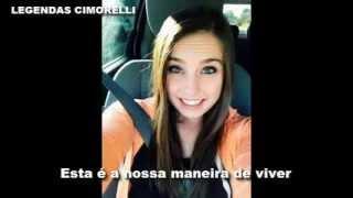 Cimorelli - The Way We Live [LEGENDADO EM PORTUGUÊS - BR]