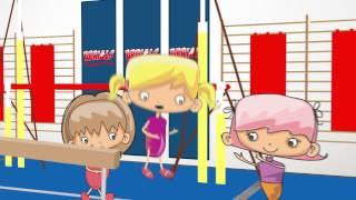 Animated Explainer Video   Aerials Gymnastics
