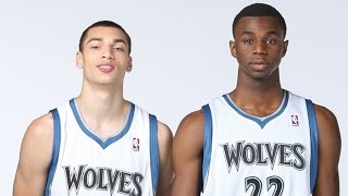 Zach Lavine and Andrew Wiggins 2014-2015 MIX-Dmx Party UP