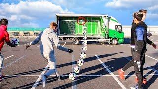 MOVING TRUCK CROSSBAR CHALLENGE