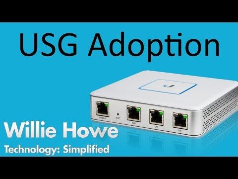UniFi USG Adoption - UniFi Security Gateway