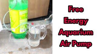 How to make a Free Energy Aquarium air Pump | Free energy Aquarium air Pump | Aquarium air Pump