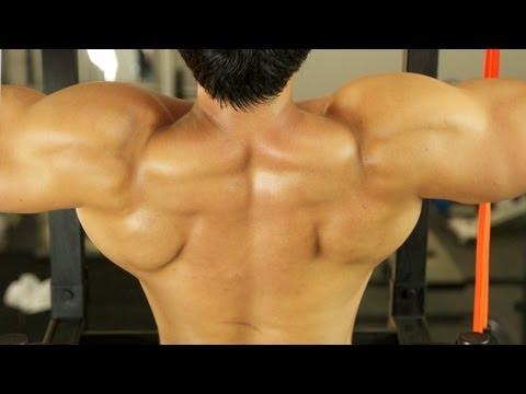 V Shape Back Workout