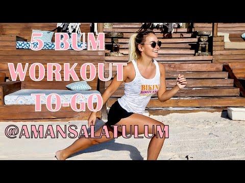 BUM workout // Marina Bastarache