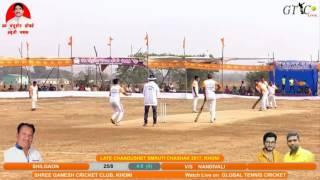 balu (nandivali)  batting at Late Chandu seth Thombare Chashak