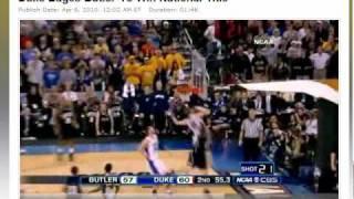 Highlights of Duke vs. Butler NCAA National Championship Game 2010
