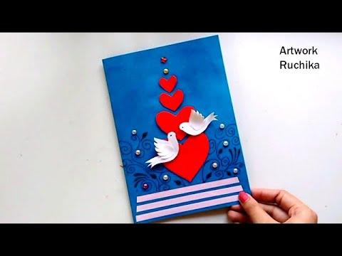 Xxx Mp4 New Year Greeting Card Handmade Popup Card Love Bird Card DIY 3gp Sex