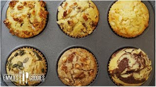 Muffin Recipe - Create 6 Fall Flavors Using One Recipe