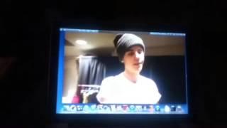 Justin Bieber said happy birthday for safa.mp4