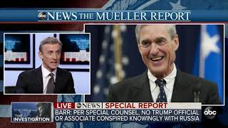 SPECIAL REPORT  Attorney General Barr delivers Mueller report's main conclusions