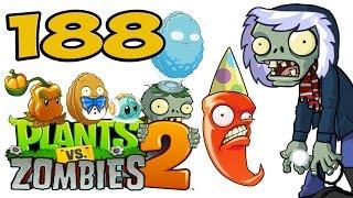 ч.188 Plants vs. Zombies 2 - Frostbite Caves - Day 17