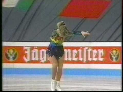 Tonya Harding USA 1991 World Figure Skating Championships Ladies Original Program
