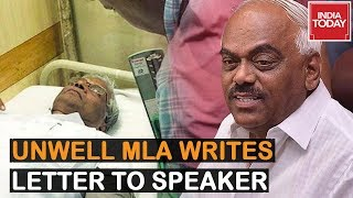 India Today Scoops 'Unwell' MLA Patil's Letter To Speaker, Confirms He Was Not Abducted By BJP