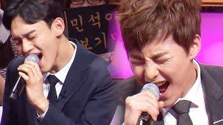 엑소, 조성모 3옥타브 고음 도전 《Fantastic Duo》판타스틱 듀오 EP03