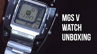 Metal Gear Solid 5 Watch Unboxing