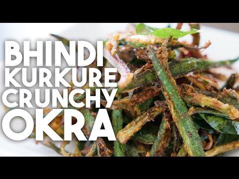 BHINDI Kurkure - Crispy Spiced OKRA FRIES