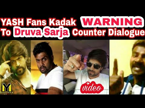 Xxx Mp4 Rocking Star Yash Fans Kadak Warning To Druva Counter Dialogues Exclusive 3gp Sex