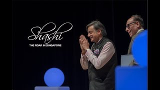 Shashi The Roar In Singapore - Part I | Dr. Tharoor at Global Leaders Series