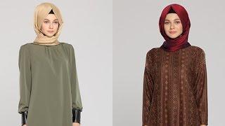 Tozlu 2015-2016 Sonbahar Kış Tesettür Tunik Modelleri