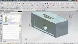 Foampart 3 - Siemens NX 8 Surface Training - Wave geometry linker